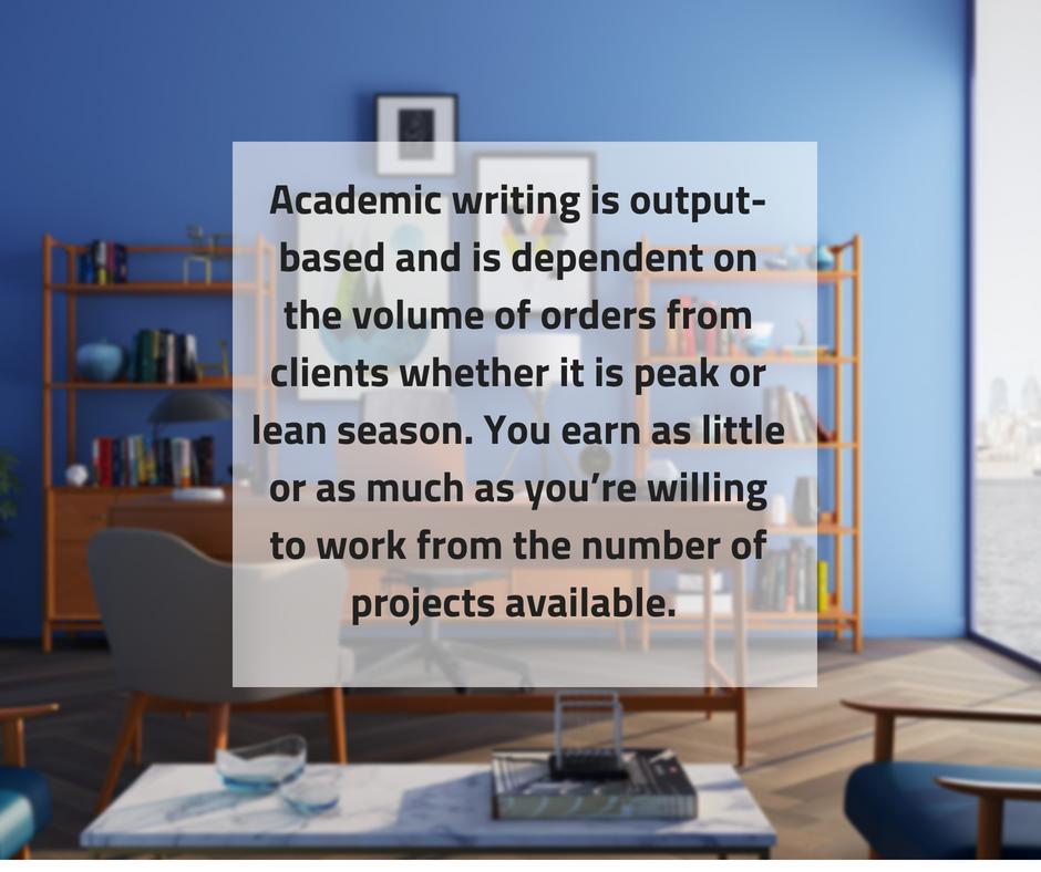 Academic essay writing jobs