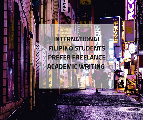 Filipino Students Overseas Prefer Freelance Writing Jobs | Academic